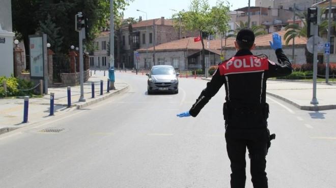 İzmir'in ceza raporu: 3 günde 1589 kişi