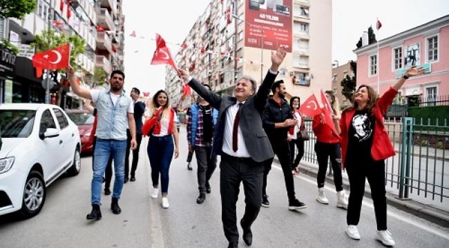 Başkan İduğ'dan balkonlara davet