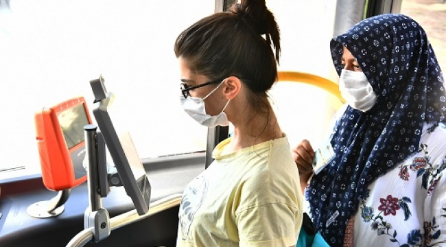 ESHOT'ta koronaya karşı yeni dönem! 'Virüssavar' İzmirlilerin hizmetinde