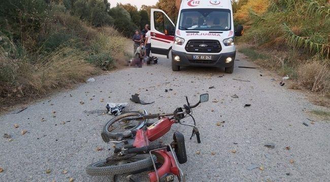 Tire'de korkunç kaza! Motosiklet sürücüsü hayatını kaybetti