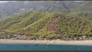 Antalya Adrasan'da orman yangını! 60 hektar alan küle döndü
