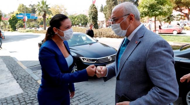 Başkan Sengel Vali Köşger'i ağırladı