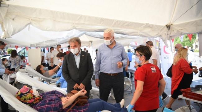 Bornova Belediyesi ve Türk Kızılayı'ndan ortak kampanya