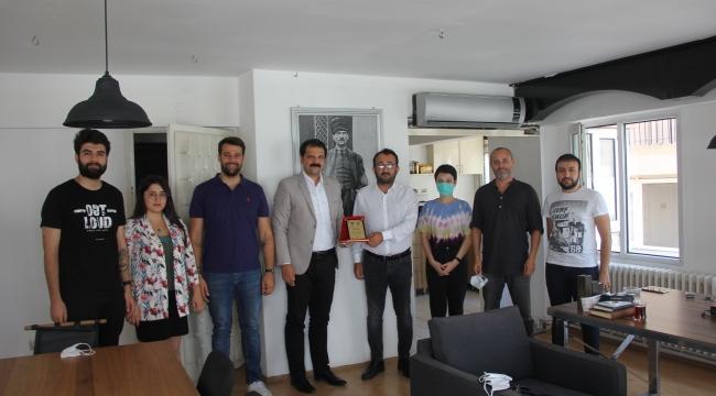 CHP'li Gruşçu'dan yerel basına destek.. Gültepe Kentsel Dönüşüm mesajları..