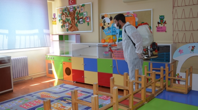 Dikili'de okullar eğitim öğretime hazır!