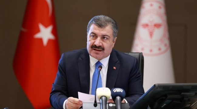 """Fahrettin Koca İzmir'de konuşuyor: """"İzmir mercek altında, yüzde 42 artış!"""""""