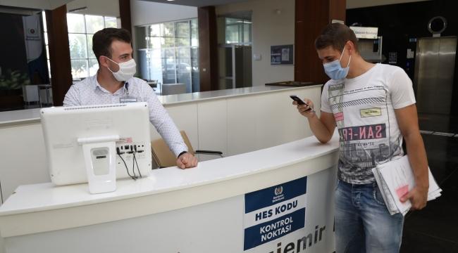Gaziemir Belediyesi'nde HES kodu dönemi