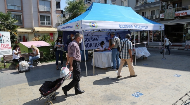 Gaziemir'de şikayet ve öneriler için Çözüm Noktası!