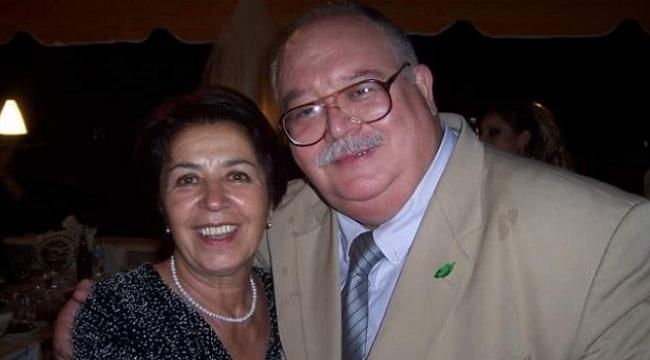 İzmir'in simge ismi Sancar Maruflu 45 yıllık hayat arkadaşını kaybetti