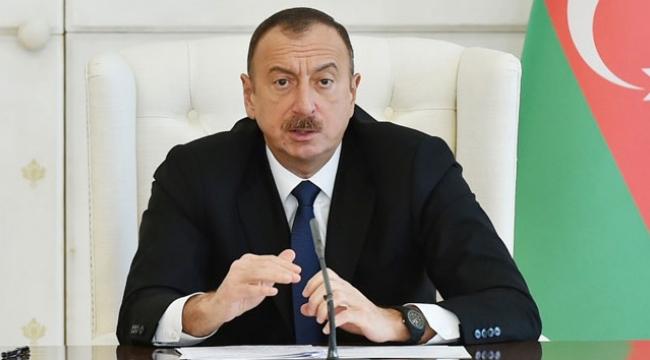 Azerbaycan Cumhurbaşkanı Aliyev'den kritik mesaj