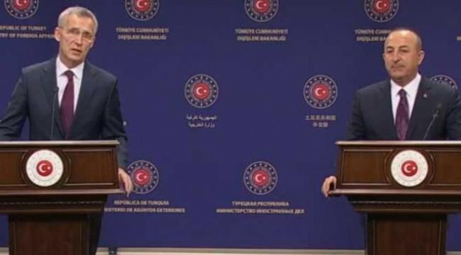 Bakan Çavuşoğlu ve NATO'dan ortak açıklama