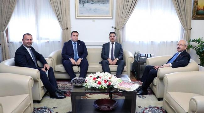 Başkan Kayalar Kılıçdaroğlu ile görüştü