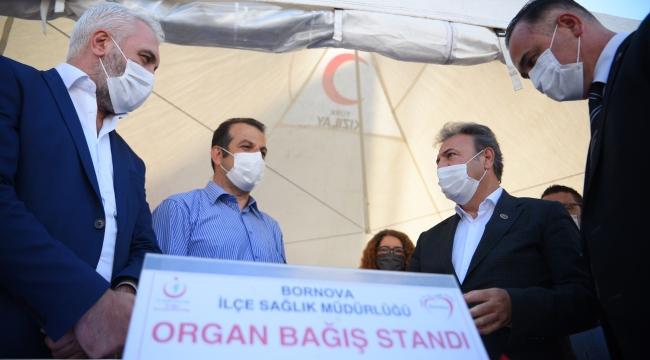 Bornova'da organ bağışı kampanyası
