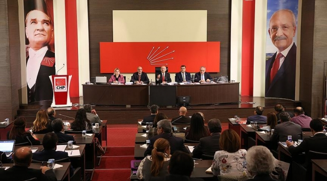 CHP Parti Meclisi (PM) tarihi belli oldu