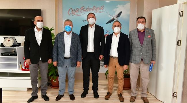 Çiğli'de kritik zirve: Projeler Konuşuldu
