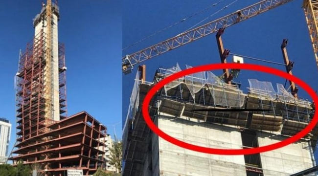 Depreme gökdelende çalışırken yakalandı: Bir işçi düşerek can verdi