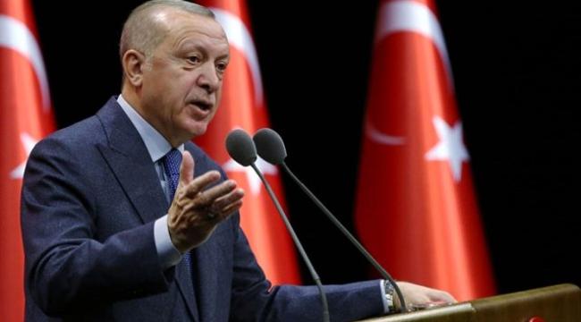 Erdoğan'dan 'Işıklar yanıyor' açıklaması