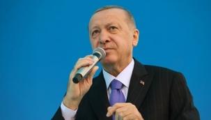 Erdoğan: Yıkılan evlerin yerine yenilerini yapacağız!