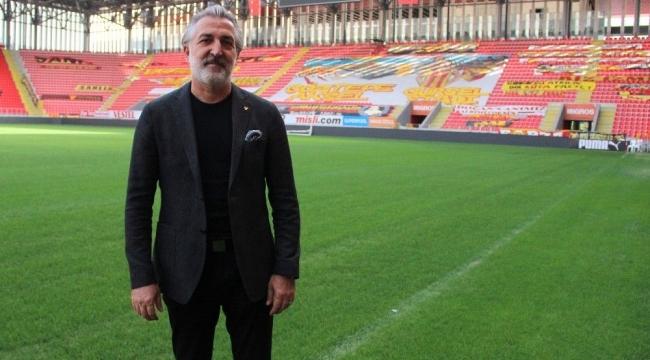 """Göztepe Başkan Vekili Talat Papatya: """"Gençleştirme operasyonu yaptık"""""""