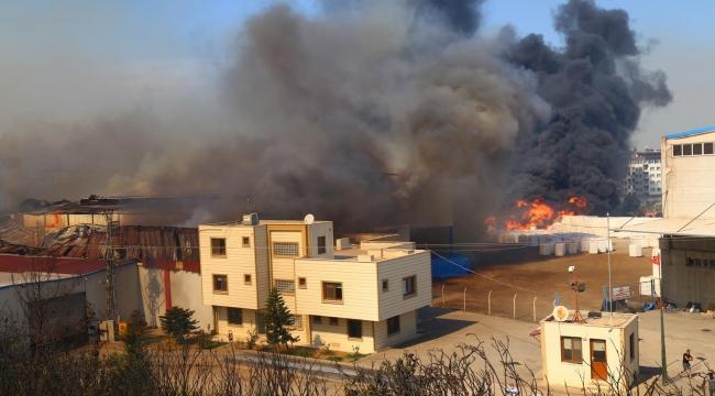 Hatay'da büyük panik! Yangın evlere sıçradı