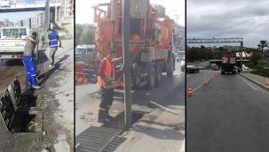 İzmir'de ekipler yağışlar için teyakkuza geçti!