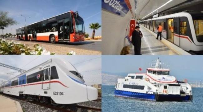 İzmir'de 29 Ekim'de ücretsiz ulaşım!