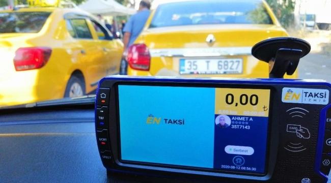 İzmirliler dijital taksi sistemini sevdi