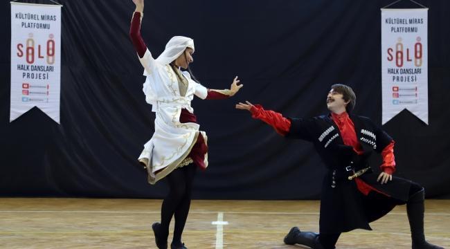 Menderes'te Solo Halk Dansları coşkusu