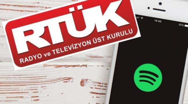 RTÜK'ten Spotify açıklaması