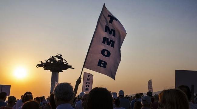 TMMOB: Genel kurul yasağı, salgın için değil, iktidar için alındı