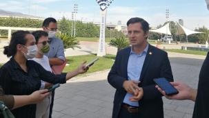 Yücel'den Ak Partili Dağ'a 'Millet Bahçesi' çıkışı: İzmirliler hakaret sayar!