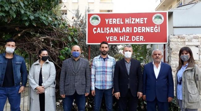 AK Parti İl Başkanlığı'ndan Yer-Hiz-Der'e Ziyaret