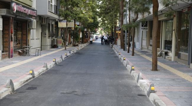 Alsancak sokakları baştan sona yenileniyor