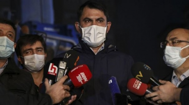 """Bakan Kurum: """"Bayraklı'daki hasar tespit çalışmaları tamamlandı"""""""