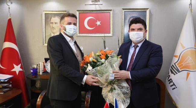 Başkan Kılıç'tan AK Partili Kalfaoğlu'na ziyaret