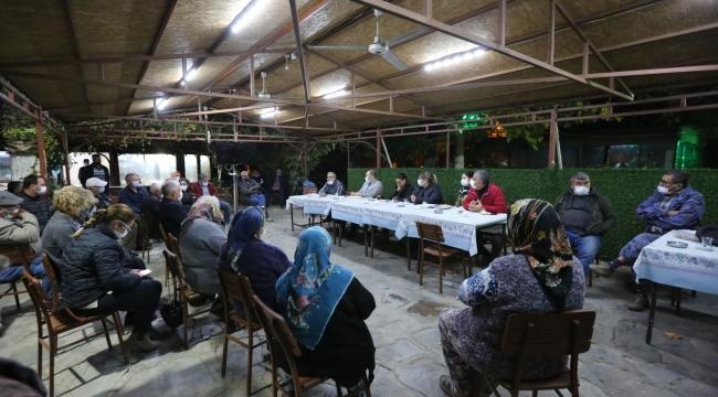 Başkan Sengel köy ziyaretlerine Belevi ile devam etti