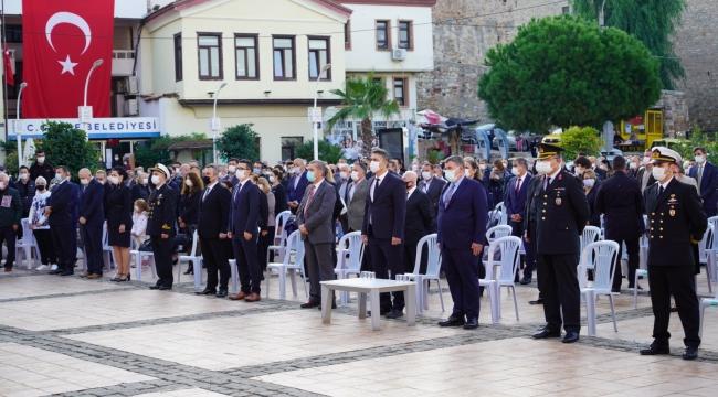 Çeşme'de 10 Kasım Atatürk'ü Anma Günü Töreni