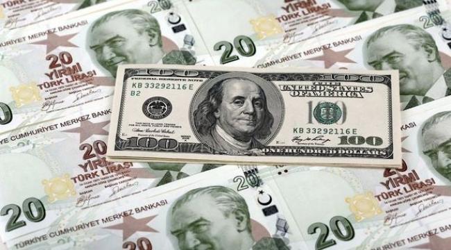 Dolar/TL kuru sert düştü