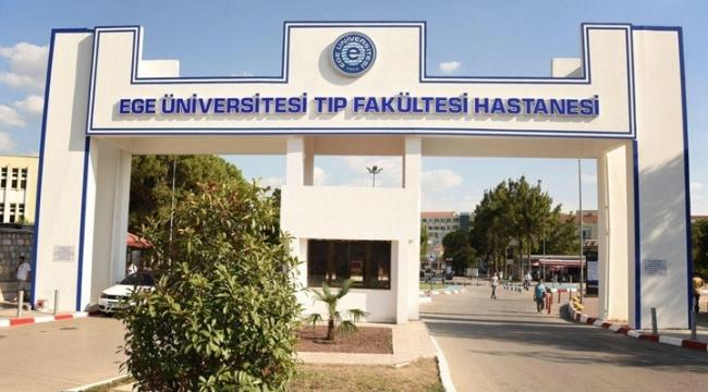 Ege Üniversitesi'nde poliklinik hizmetleri durduruldu