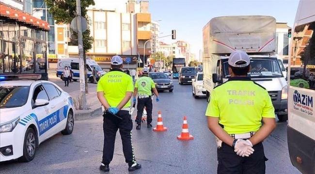İçişleri Bakanlığı duyurdu: 105 araç ve 13 iş yeri faaliyetten men edildi