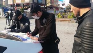 İzmir'de kısıtlamaya uymayanlara ceza yağdı!