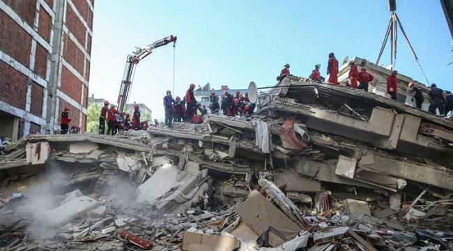 İzmir depreminde can kaybı 115'e yükseldi!