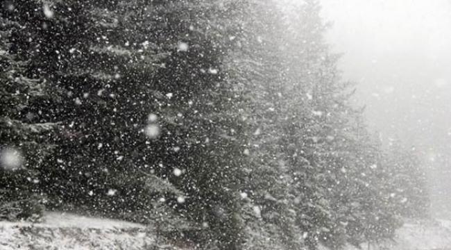 İzmir'e ilk kar düştü!