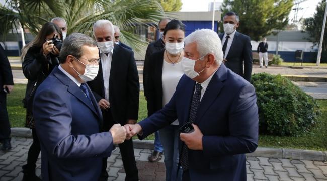 Kahramanlar'dan Başkan Batur'a teşekkür