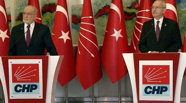 Kılıçdaroğlu ve Karamollaoğlu'ndan 'istifa' yorumu