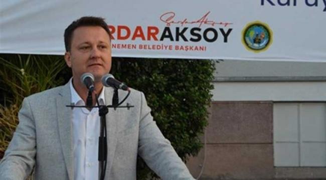 Menemen Belediye Başkanı Aksoy istifa etti!