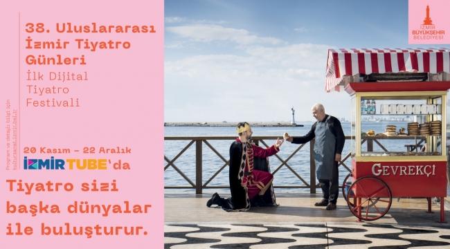 Türkiye'nin ilk dijital tiyatro festivali İzmir'de