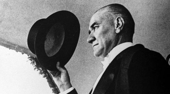 Ulu Önder Atatürk'ü saygı ve minnetle anıyoruz