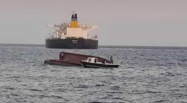 Yunan tankeri ile Türk balıkçı teknesi çarpıştı!