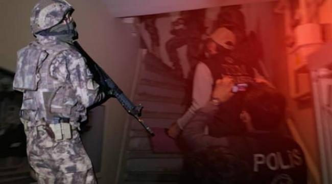 İzmir'de terör örgütü operasyonu: 48 gözaltı